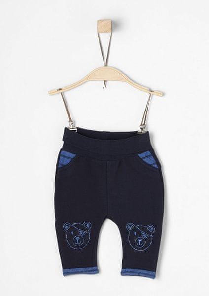 s.Oliver chlapecké kalhoty 68 modrá