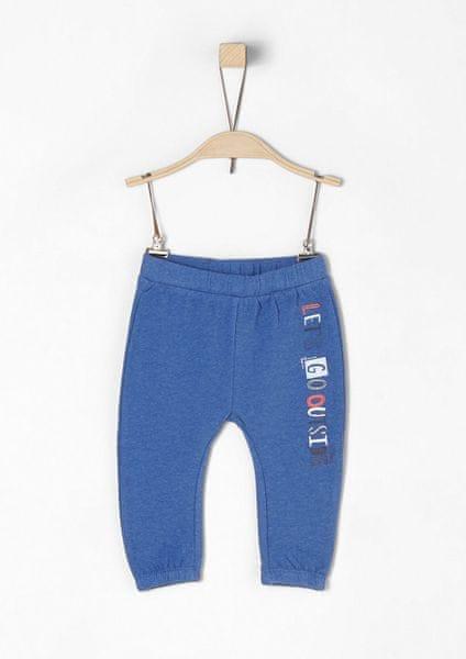 s.Oliver chlapecké kalhoty 74 modrá