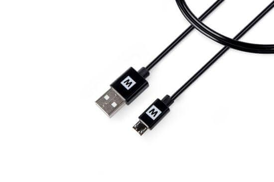 MAX MUC1200B kabel micro USB 2.0 2m, černá