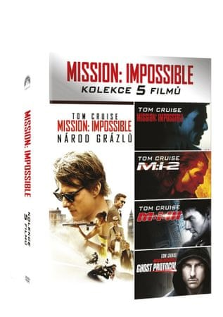 Mission: Impossible kolekce 1-5       -  DVD