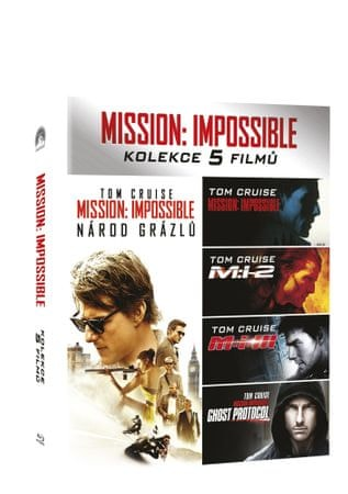Mission: Impossible kolekce 1-5 BD   - Blu-ray