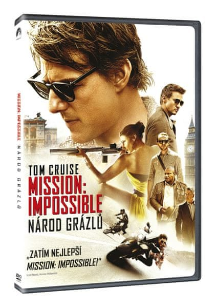 Mission: Impossible - Národ grázlů - DVD