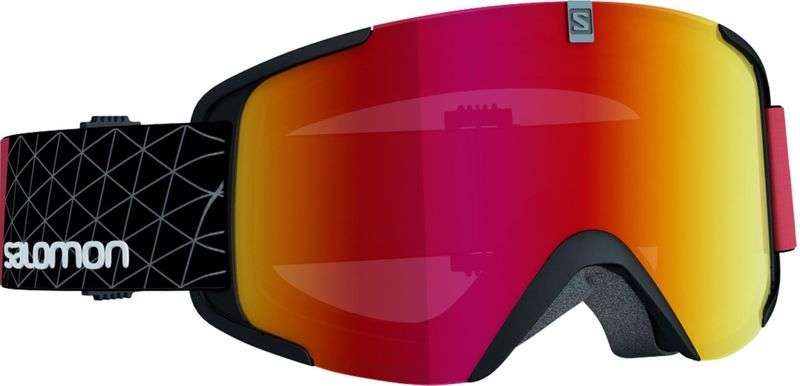Salomon Xview Black-Red/Universal Mid Red