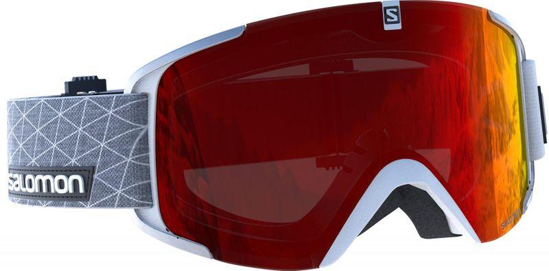 Salomon Xview White/Universal Mid Red