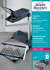 Avery Zweckform Folija za laserski tisk z robom zgoraj, 50 kosov  (2507)
