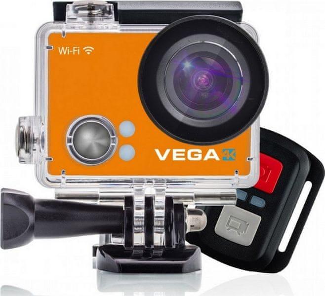 Niceboy Vega 4K Limited Orange + dálkové ovládání