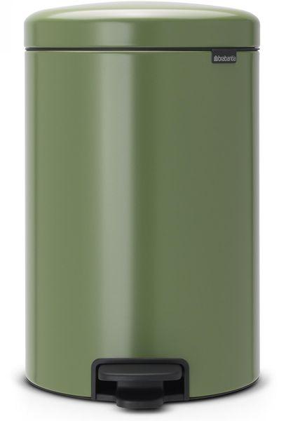 Brabantia Pedálový koš newIcon 20 l, mechově zelená