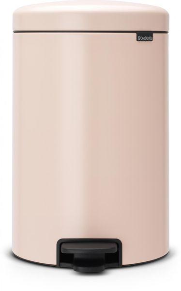 Brabantia Pedálový koš newIcon 20 l, světle růžová