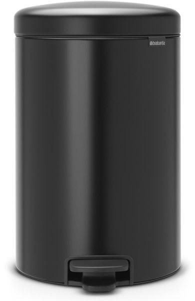 Brabantia Pedálový koš newIcon 20 l, matná černá
