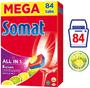 1 - Somat All-in-One Lemon & Lime tablety do myčky 84 ks