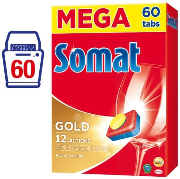 Somat Gold tablety do myčky 60 ks