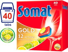 Somat Gold Lemon & Lime tablety do myčky 40 ks