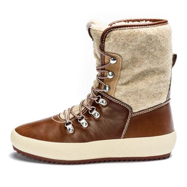 Gant dámská kotníčková obuv Amy 38 hnědá