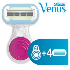 Gillette Venus Snap holicí strojek + hlavice 3ks