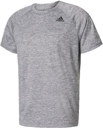 Adidas D2M Tee Ht Medium Grey Heather L