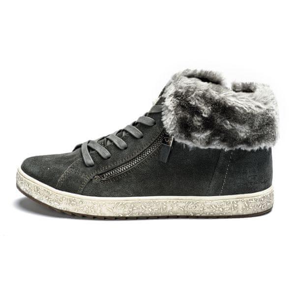 Tom Tailor dámská kotníčková obuv 41 šedá