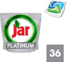 Jar kapsle Platinum Green 36 ks
