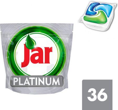 Jar Platinum Mosogatógép kapszula, 36 db, Zöld