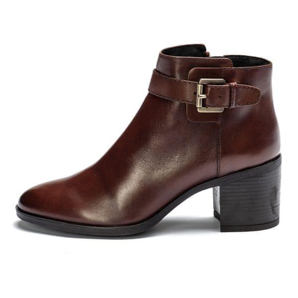 Geox dámská kotníčková obuv Glynna 36 hnědá