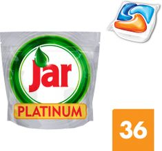 Jar kapsle Platinum Orange 36 ks