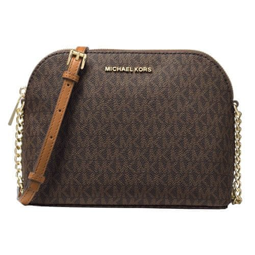 Michael Kors Crossbody kabelka Cindy Logo - Brown