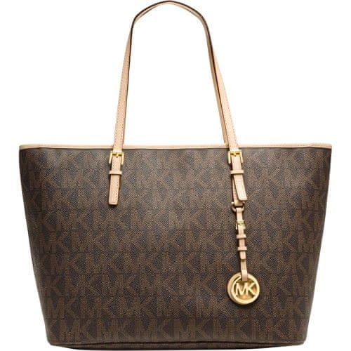 Michael Kors Kabelka Medium Travel Tote - Brown