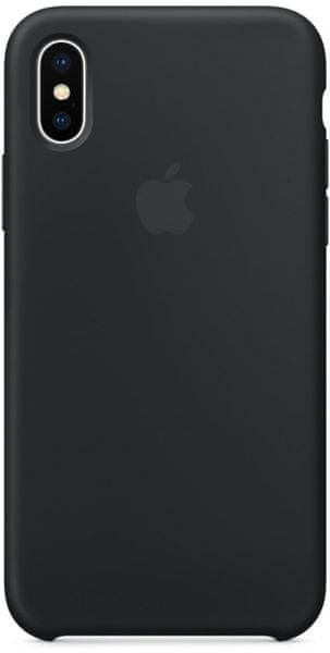 Apple Silikonový Kryt, Apple Iphone X, mqt12zm/A, Černá