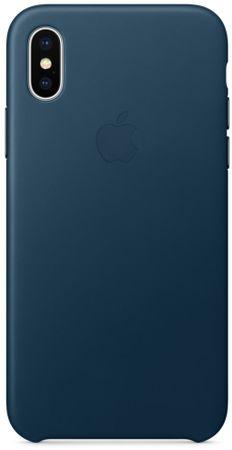 Apple Bőr védőborítás, Apple iPhone X, MQTA2ZM / A, égszínkék