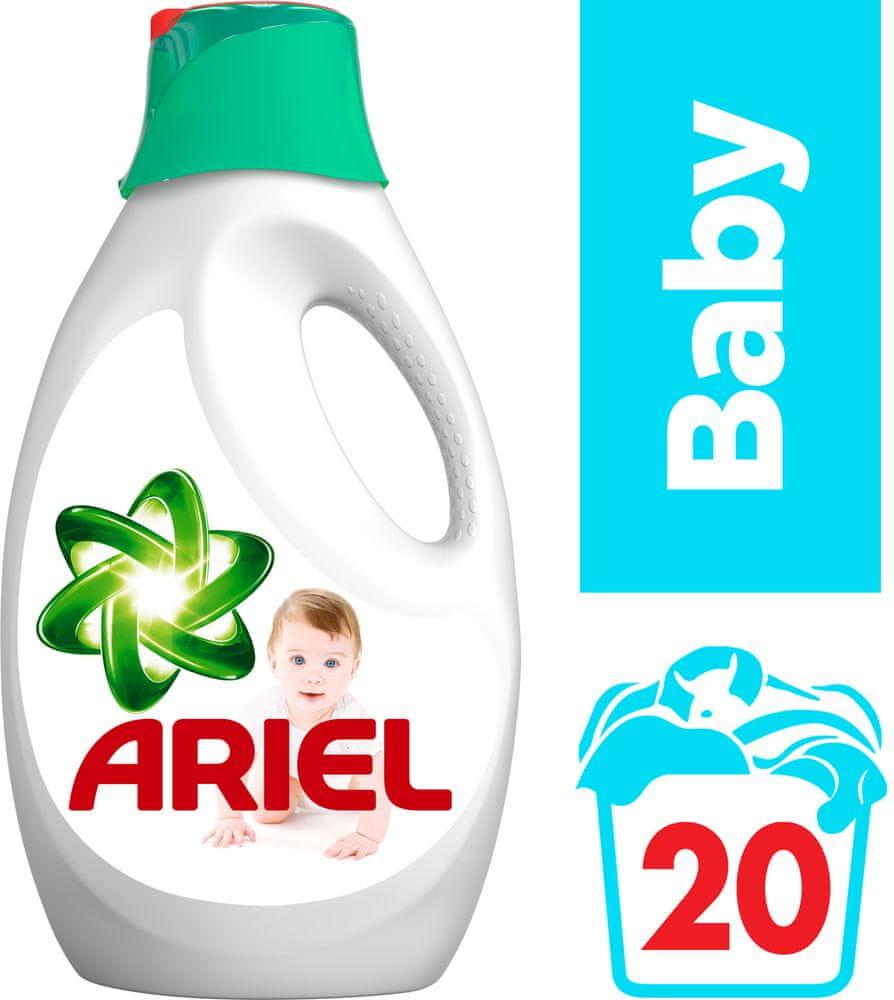 Ariel Baby tekutý prací prostředek 1,1 l (20 praní)