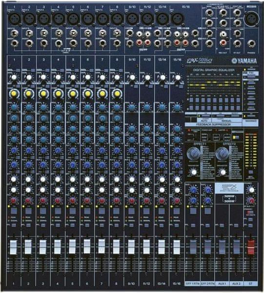 Yamaha EMX 5016CF Mixážní pult se zesilovačem