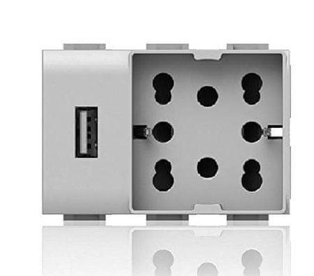 4BOX Šuko + USB vtičnica