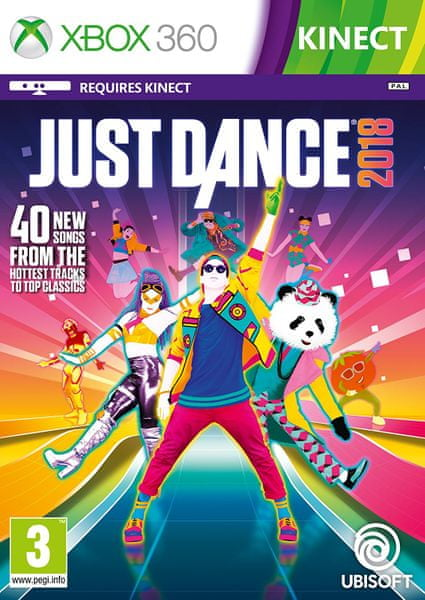 Ubisoft Just Dance 2018 / Xbox 360