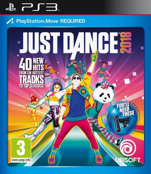 Ubisoft Just Dance 2018 / PS3