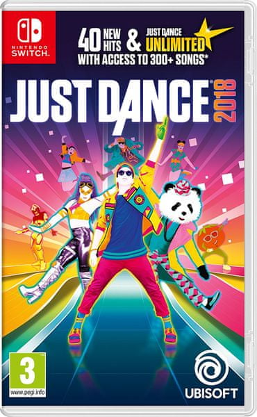 Ubisoft Just Dance 2018 / Switch