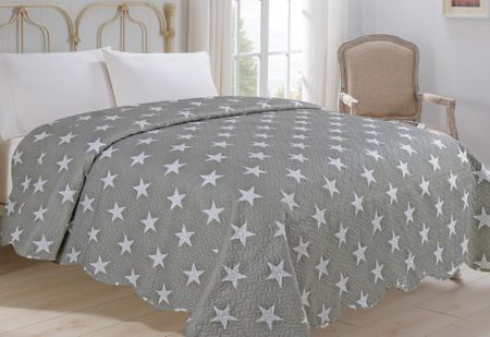 Jahu my House Narzuta na łóżko Stars 220x240 cm