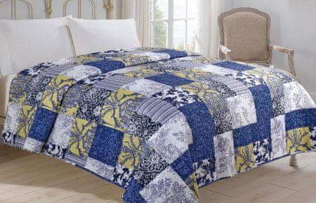 Jahu my House Narzuta na łóżko Modrotisk 220x240 cm