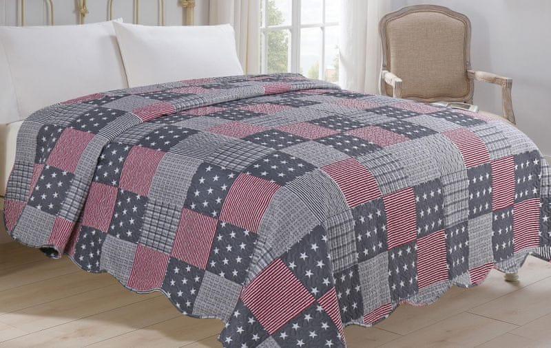 Jahu my House Přehoz přes postel Americano 220x240 cm