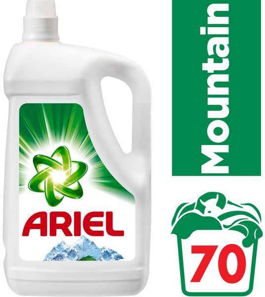 Ariel Gel Mountain Spring 4,55 l, 70 praní