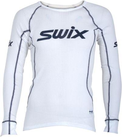 Swix RaceX triko dl.rukáv pán. Bílá XL