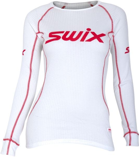 Swix RaceX triko dl.rukáv dám. Bílé M