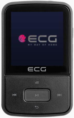 ECG prenosni MP4 predvajalnik PMP 30 8GB, črna