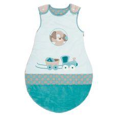 Nattou otroška spalna vreča z motivom psička, 70 cm (1. - 3. mesec starosti)