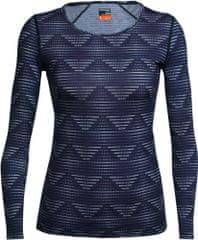 Icebreaker damska koszulka Wmns Oasis LS Scoop Diamond Line