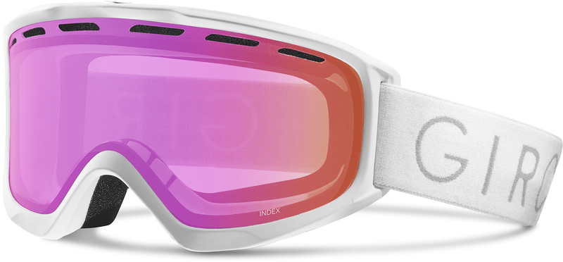 Giro Index White Core/Light Amber Pink