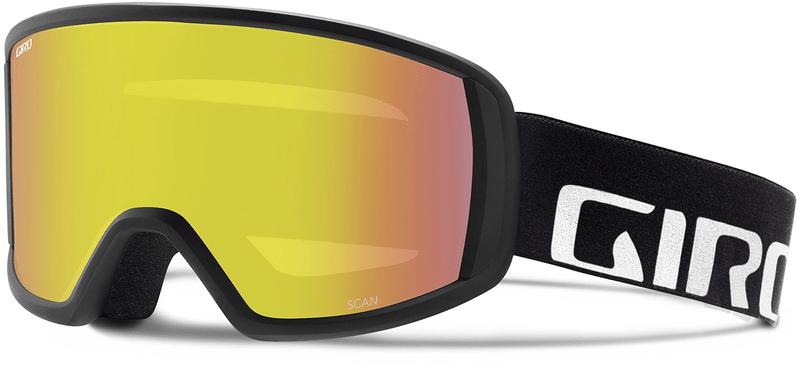 Giro Scan Black Wordmark/Yellow Boost