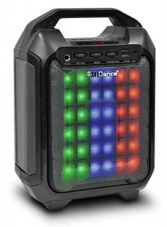 iDance prenosni zvočnik Blaster 10 BK, črna