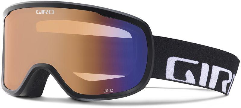 Giro Cruz Black Wordmark/Persimon Boost