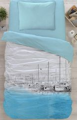 Cottonbox bombažna posteljnina Marina