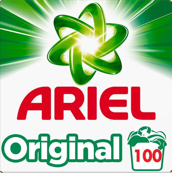 Ariel Original Prací prášek 6,5 kg, 100 praní