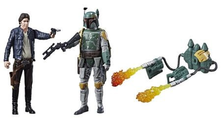 Star Wars E8 Dve deluxe figúrky Force Link - Han Solo
